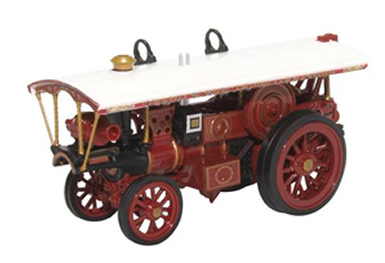 1/76 Burrell Showmans Locomotive No 4030 Dolphin Red