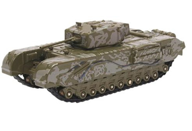 1/76 Churchill Tank MkIII 142 RAC Tunisia 1943 Grey Camo