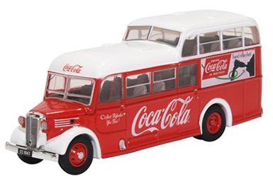 1/76 Commer Commando - Coke red/White