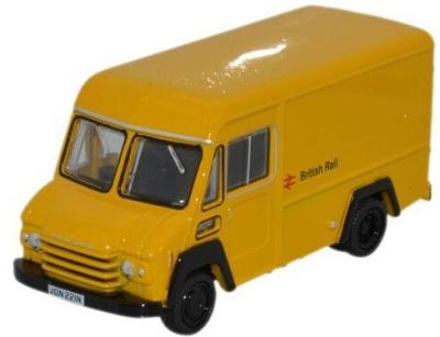 1/76 Commer Walk Thru Van Yellow