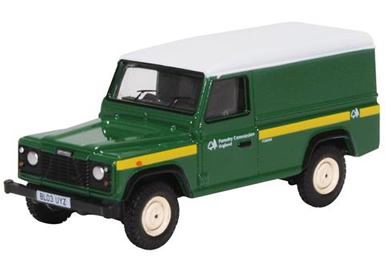 1/76 Land Rover Defender LWB Forestry Commission Green
