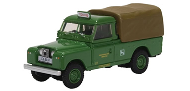 1/76 Land Rover Series II LWB Canvas Back - Southdown Motors
