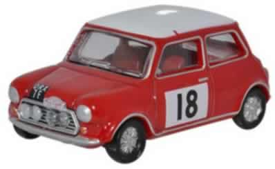 Mini Cooper S MkII Monte Carlo Rally Red