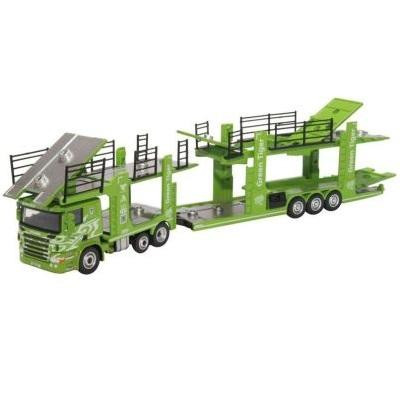 Scania Car Transporter 6 Car Transport - Green Tiger