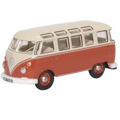 Samba Bus Sealing Wax Red Beige Grey