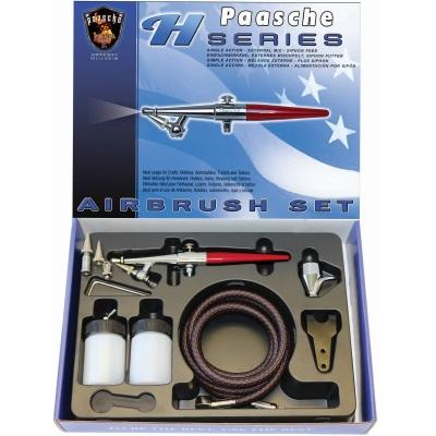 Paasche H-Set Airbrush Set – all three heads