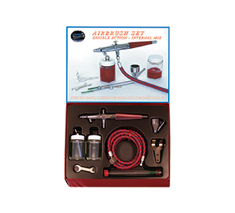 Paasche VL Airbrush Set with All Three Heads