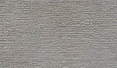N Grey Stone Walling 64x127mm 4 Sheets