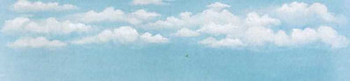 Sky with Clouds 228mm x 736mm