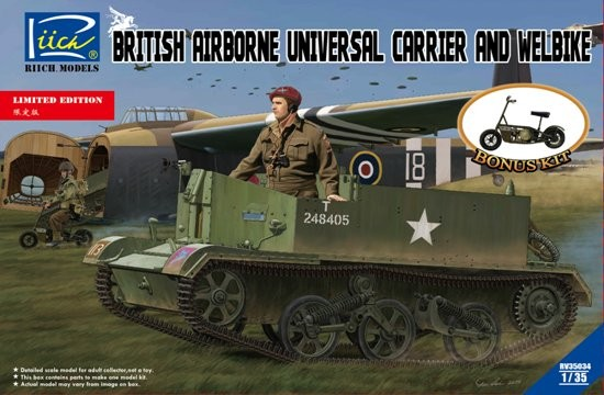 1/35 Brit Airbourne Uni Carrier & Welbik