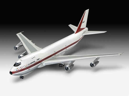 1/144 Boeing 747-100, 50th Anniversary Gift Set