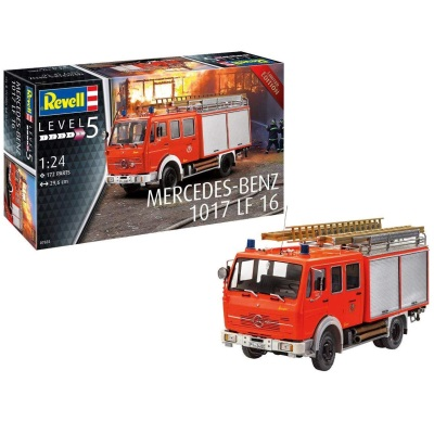 1/24 Mercedes-Benz 1017 LF 16 Fire Appliance