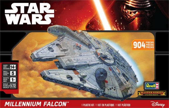 1/72 Star Wars: Millennium Falcon (Master Series. A Fine Molds Model Kit)