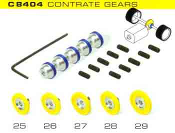 Pack of 5 Contrate Gears