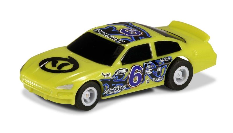 Micro US Stock car - Green #6