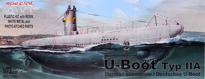 1/72 Special Navy U-Boat Type IIA German