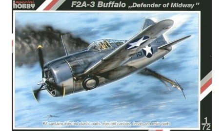 1/72 F2A3 Buffalo - Defender of Midway