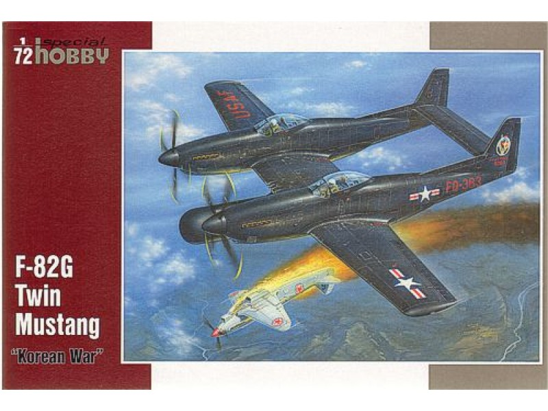 1/72 F82G Twin Mustang Long Range Fighte