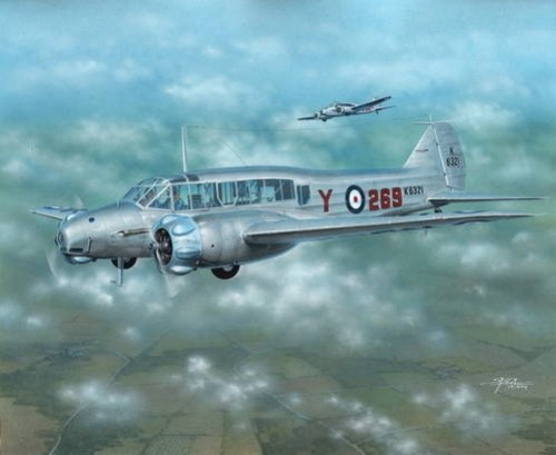1/72 Avro Anson Mk I Early Version Aircraft