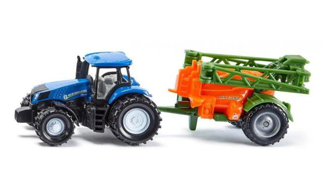New Holland with Crop Sprayer