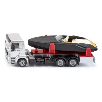 1/50 MAN TG-A truck with Speedboat