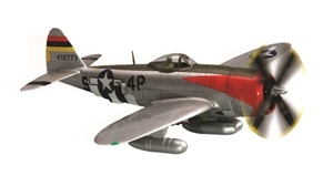1/72 P-47D Thunderbolt Pre-Painted Quick