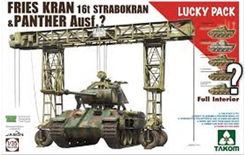 1/35 Frans Kran 16t 1943/44 Lucky Kit With Panther