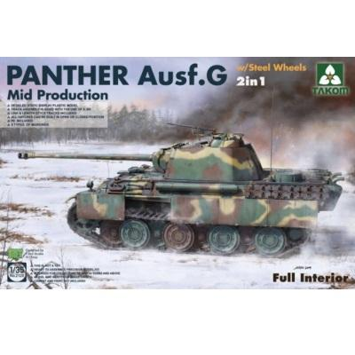 1/35 Panther Ausf G Mid Production with Steel Wheels