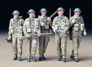 1/35 British Infantry on Patrol