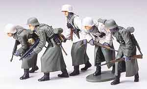 1/35 German Assault Infantry Winter Gear