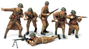 1/35 French Infantry Set