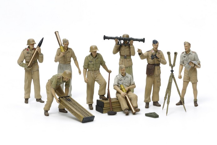 1/35 German Artillery Crew Set - Africa