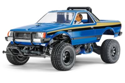 1/10 Subaru Brat Ltd Blue Edition