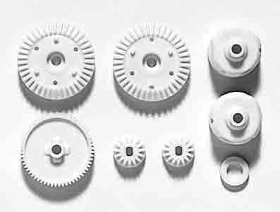 TT-01 G Parts Gear (with 61T Spur Gear)