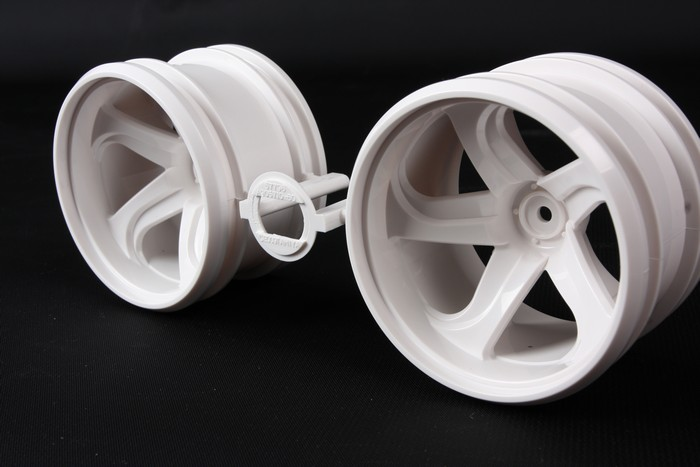 GF-01 White 5 Spoke Wheel (2)