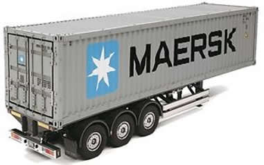 1/14 MAERSK 40ft Container & Semi Traile