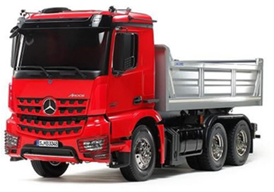 1/14 AROCS 3348 Red/Silver Tipper
