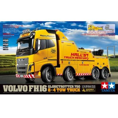 1/14 RC Volvo FH16 Globetrotter 750 8x4 Tow Truck