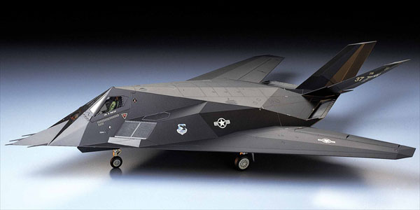 1/48 Lockheed F117 Nighthawk Stealth Fig