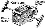 Four Speed Crank Axle Gear Box