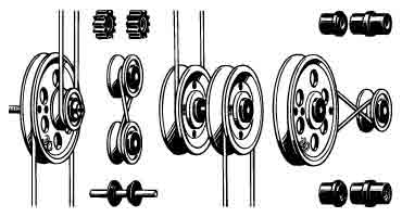 Pulley Set Small