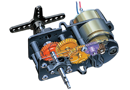 4 Speed High Power Gear Box HE