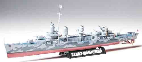 1/350 USS Fletcher Destroyer