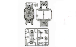 LTD Edition MS Chassis Set Silver
