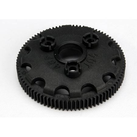 48DP Spur Gear, 90T Torque Slipper Cl