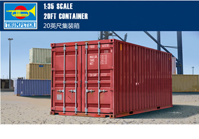 1/35 20ft Container