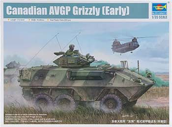 1/35 Canadian Grizzly 6x6 Armour Vehicle