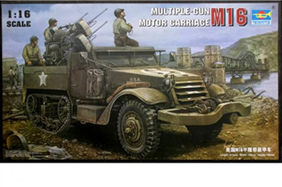 1/16 M16 Multiple Gun Motor Carriage