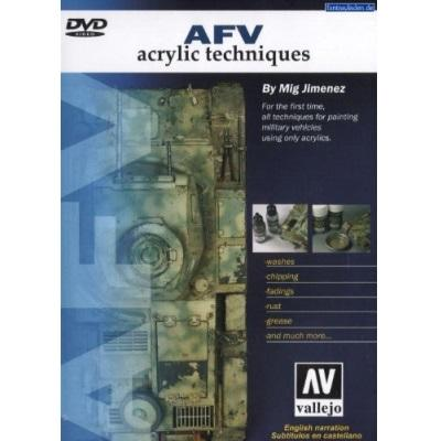 AFV Acrylic Techniques (DVD movie) (PAL)