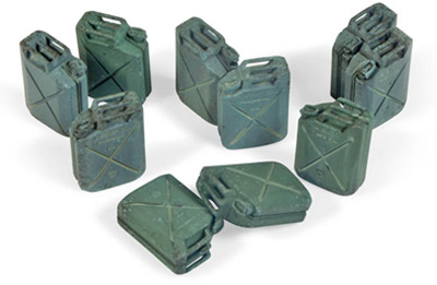 Scenics: Allied Jerrycan Set